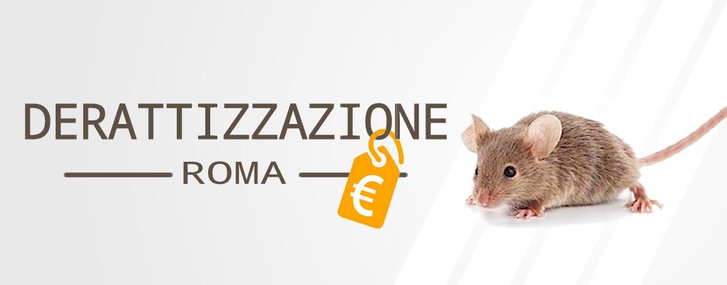 Derattizzazione Prezzi Roma